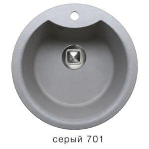 Кухонная мойка TOLERO R-108Е кварцевая D51 с выступом 5900 рублей, фото 4   интернет-магазин Складно