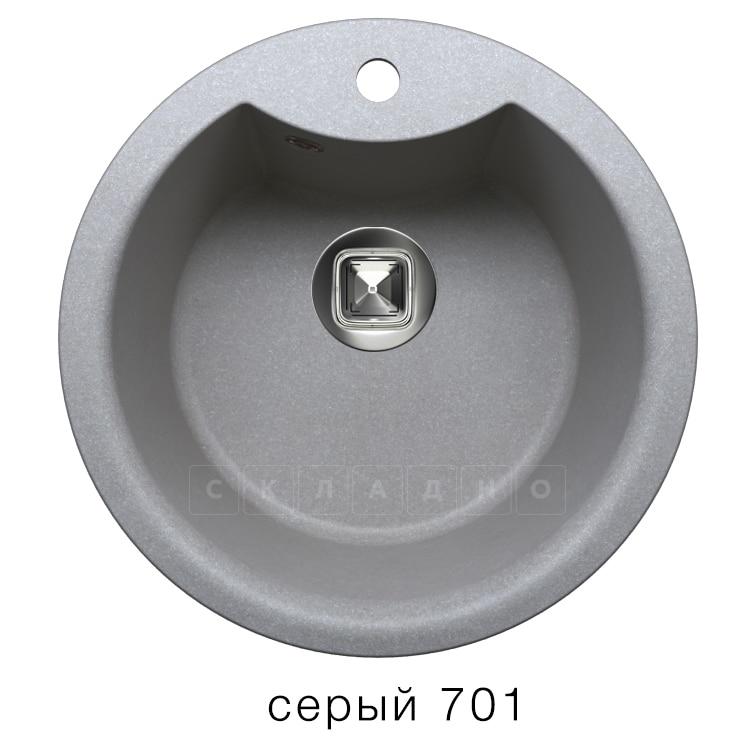 Кухонная мойка TOLERO R-108Е кварцевая D51 с выступом фото 4   интернет-магазин Складно