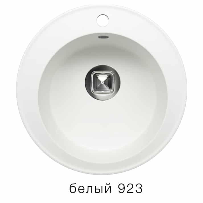 Кухонная мойка TOLERO R-108 кварцевая D51 круглая фото 8 | интернет-магазин Складно