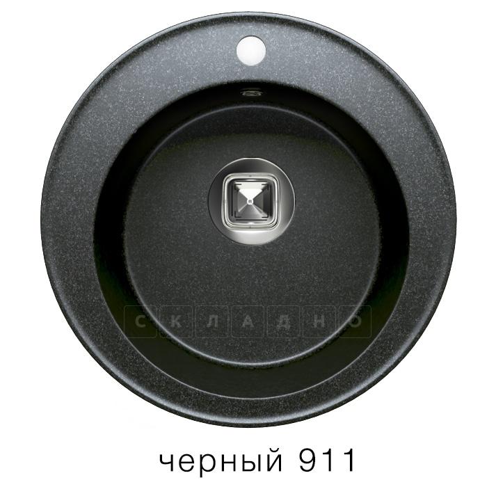 Кухонная мойка TOLERO R-108 кварцевая D51 круглая фото 7 | интернет-магазин Складно
