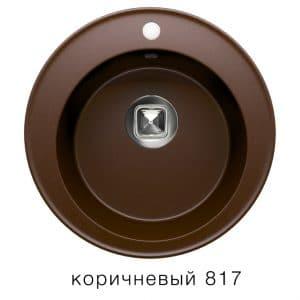 Кухонная мойка TOLERO R-108 кварцевая D51 круглая 5900 рублей, фото 5 | интернет-магазин Складно