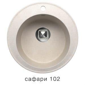 Кухонная мойка TOLERO R-108 кварцевая D51 круглая 5900 рублей, фото 3 | интернет-магазин Складно