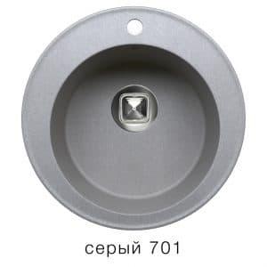 Кухонная мойка TOLERO R-108 кварцевая D51 круглая 5900 рублей, фото 4 | интернет-магазин Складно