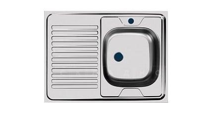 Кухонная мойка накладная металлическая 80см S0,4х130 фото 2 | интернет-магазин Складно