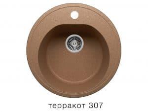 Кухонная мойка POLYGRAN F-08 из искусственного камня D51см 3600 рублей, фото 8 | интернет-магазин Складно