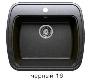 Кухонная мойка POLYGRAN F-11 из искусственного камня 57х50 см 5200 рублей, фото 6 | интернет-магазин Складно