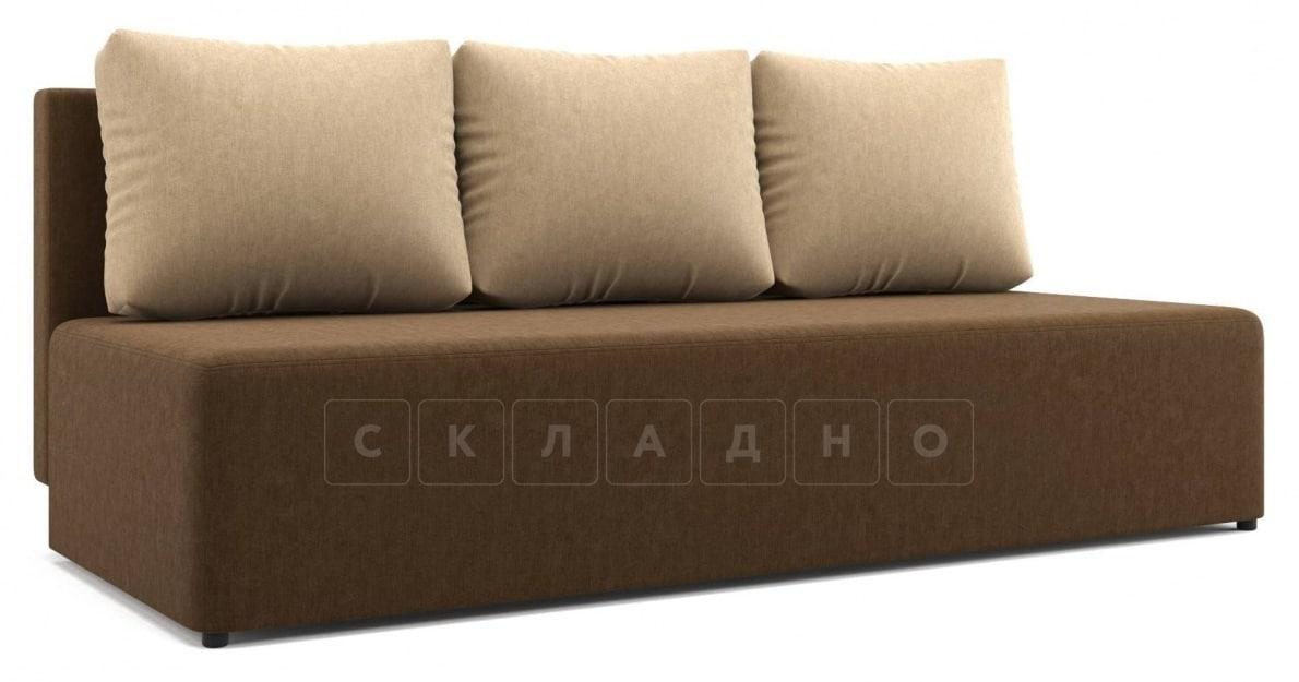 Диван еврокнижка Нексус коричневый фото 1 | интернет-магазин Складно