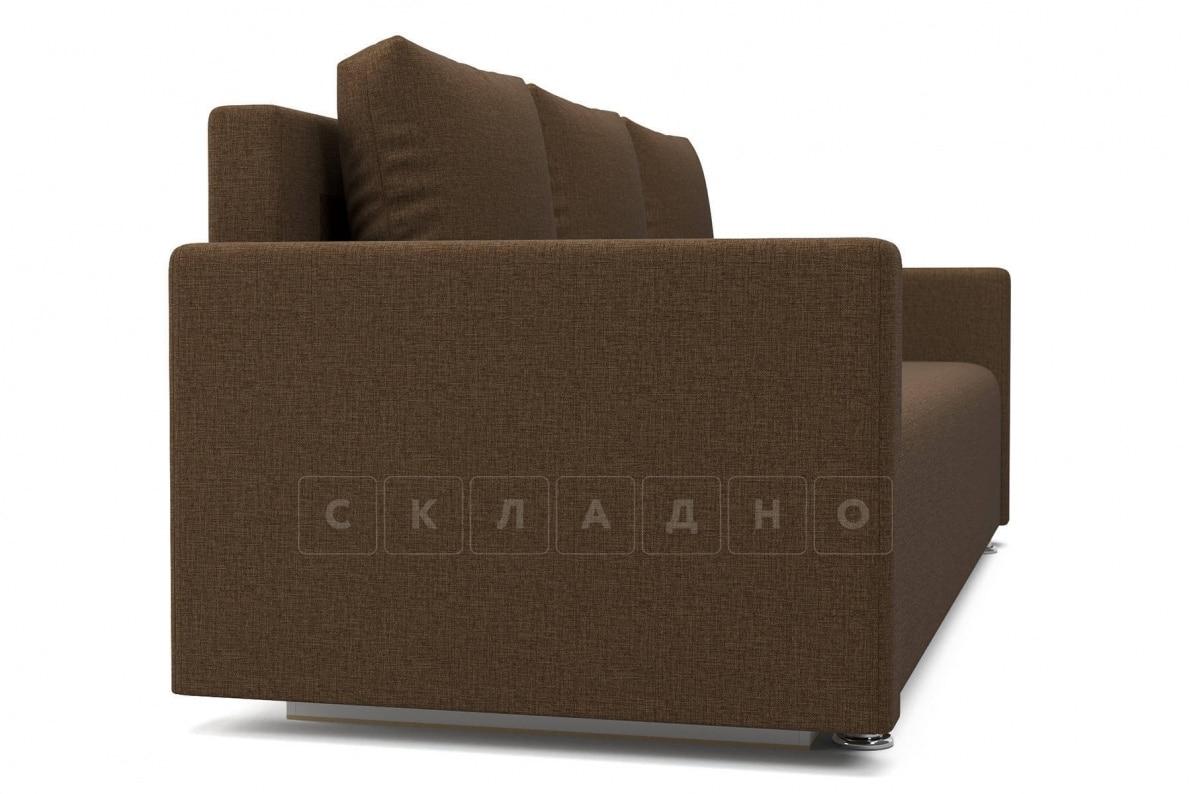 Диван еврокнижка Олимп коричневый фото 3 | интернет-магазин Складно