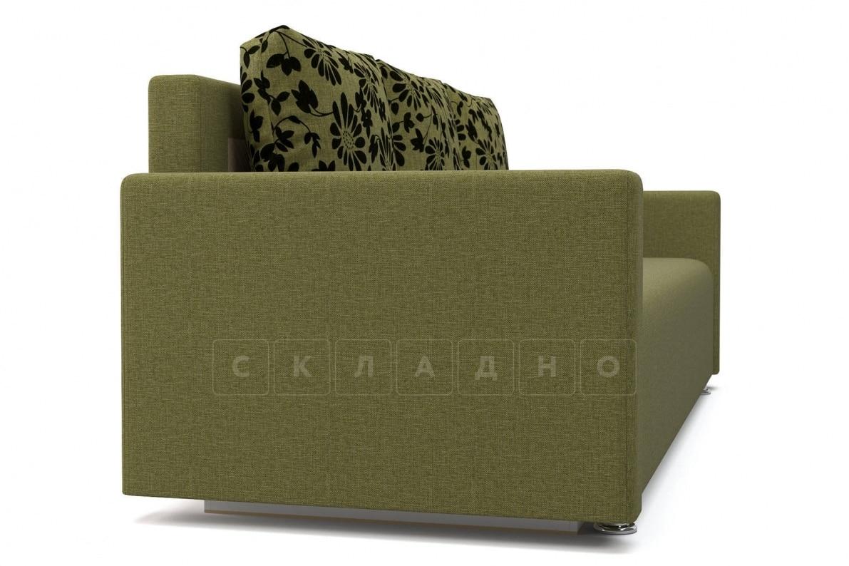 Диван еврокнижка Олимп зеленый фото 3 | интернет-магазин Складно
