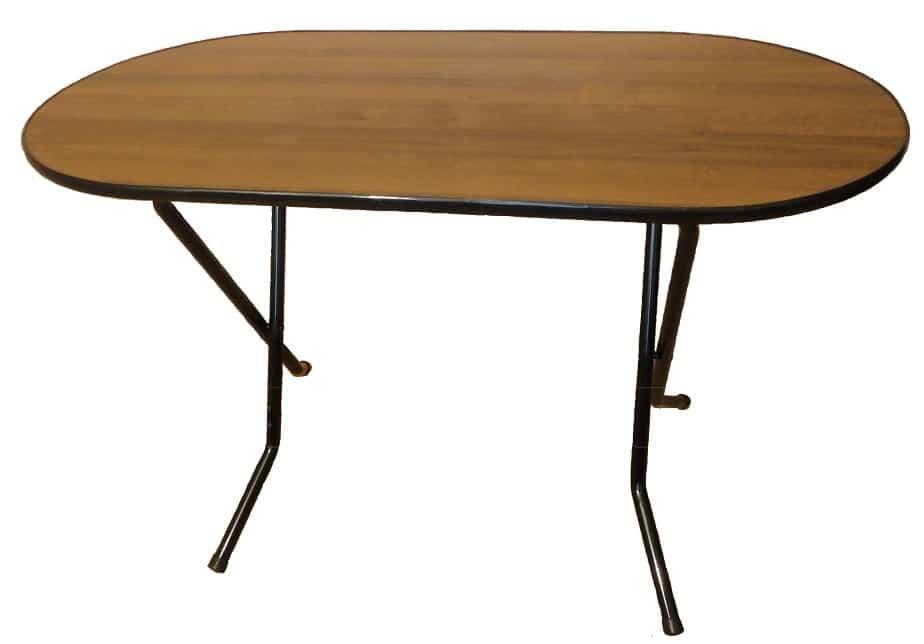 Складной стол Ривьера овальный 120 х 80 см. фото 1 | интернет-магазин Складно