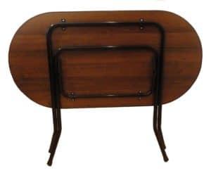 Складной стол Ривьера овальный 120 х 80 см. 4990 рублей, фото 4 | интернет-магазин Складно