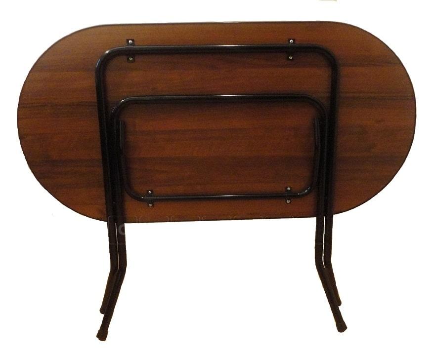 Складной стол Ривьера овальный 120 х 80 см. фото 4 | интернет-магазин Складно