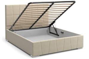 Кровать с подъемным механизмом Пассаж 180см бежевая 25990 рублей, фото 2 | интернет-магазин Складно