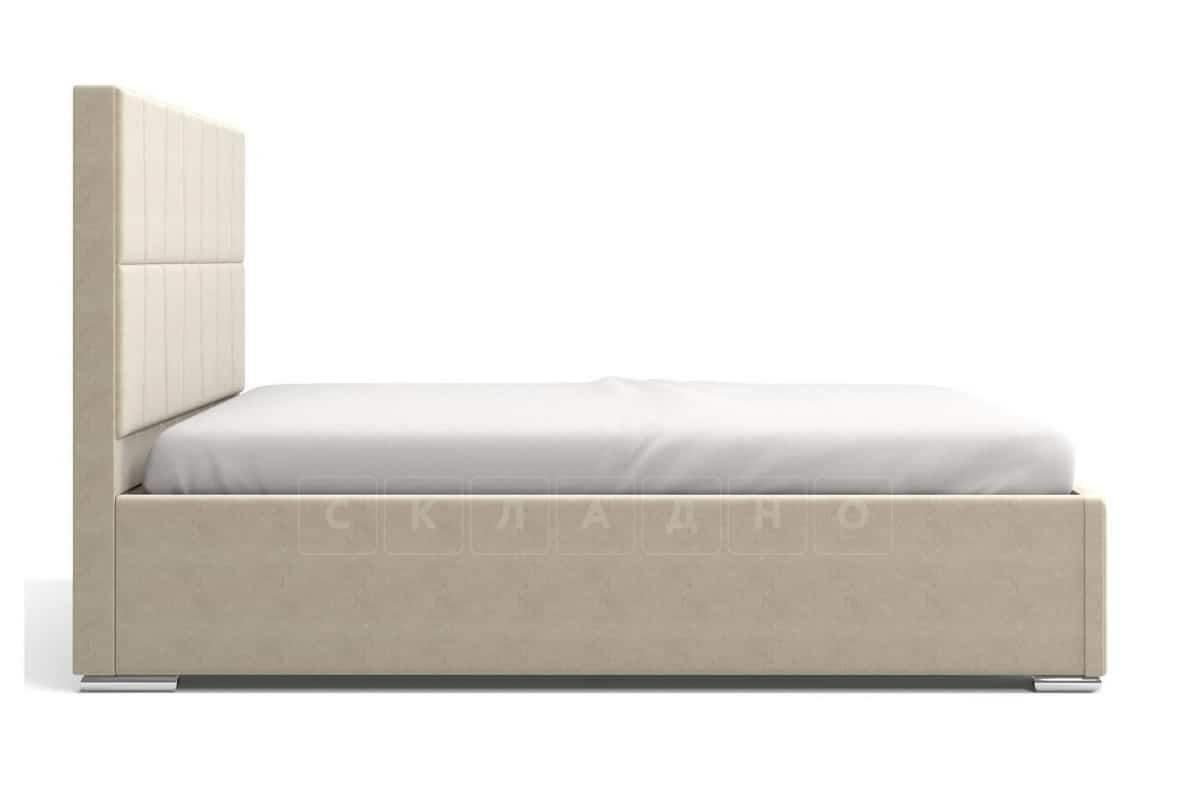Кровать с подъемным механизмом Пассаж 180см бежевая фото 5 | интернет-магазин Складно