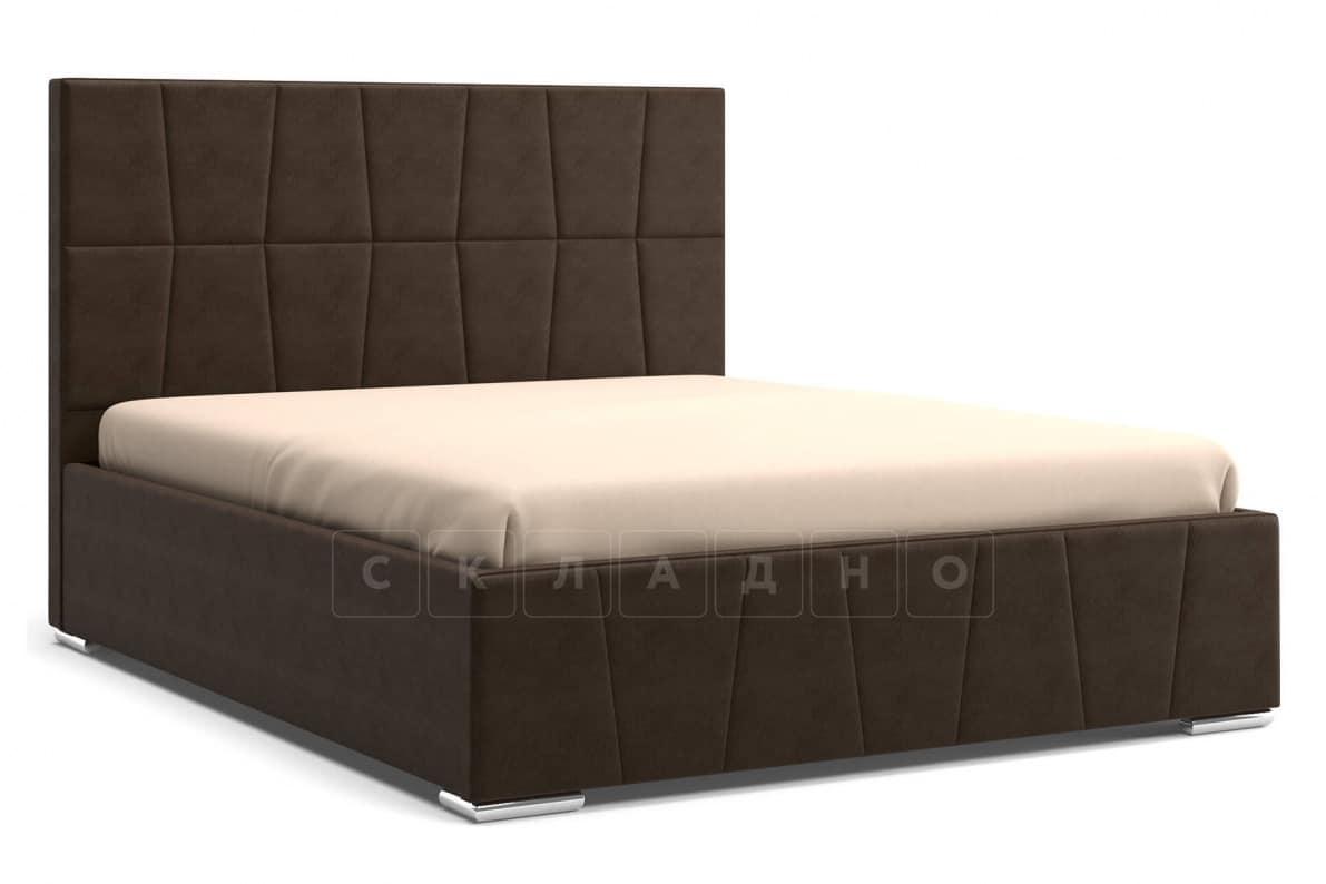 Кровать с подъемным механизмом Пассаж 180см темно-коричневая фото 1 | интернет-магазин Складно