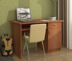 Письменный стол ПС-01 с дверцей и ящиком 3790 рублей, фото 6 | интернет-магазин Складно