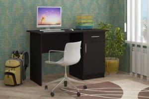 Письменный стол ПС-01 с дверцей и ящиком 3790 рублей, фото 2 | интернет-магазин Складно
