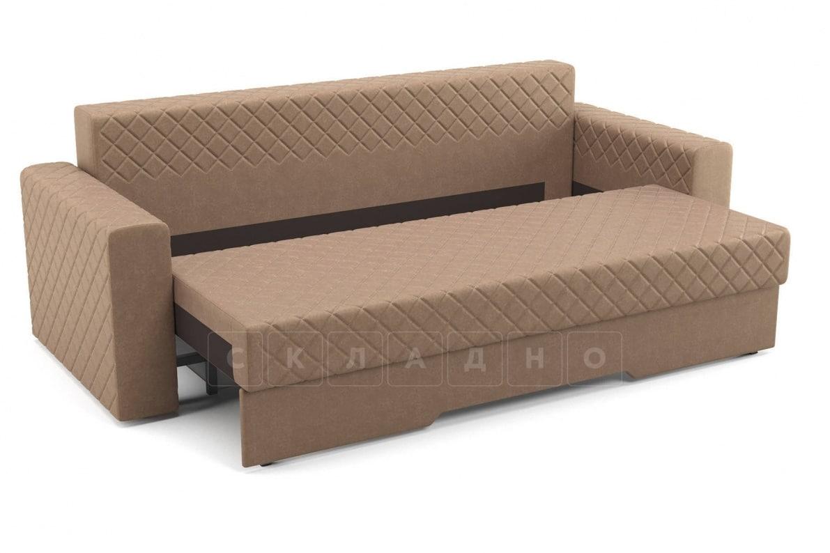 Диван Престиж коричневый фото 5 | интернет-магазин Складно