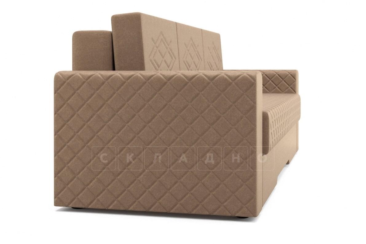 Диван Престиж коричневый фото 3 | интернет-магазин Складно