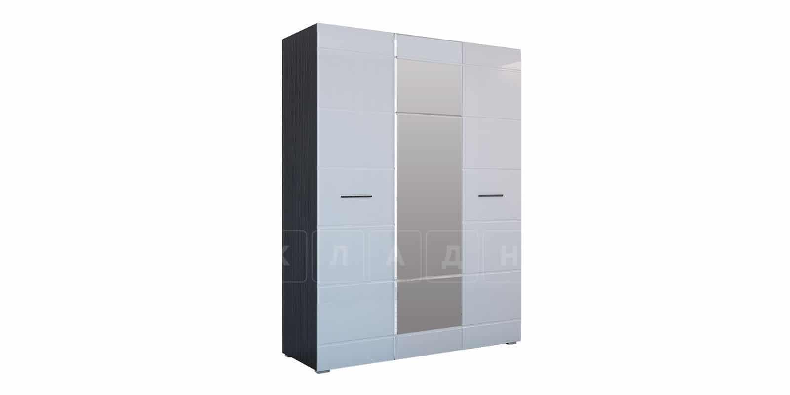 Шкаф распашной Римини трехдверный с зеркалом фото 1 | интернет-магазин Складно
