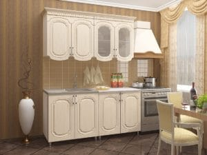 Кухонный гарнитур Скарлетт 1,6 м  10370  рублей, фото 1 | интернет-магазин Складно