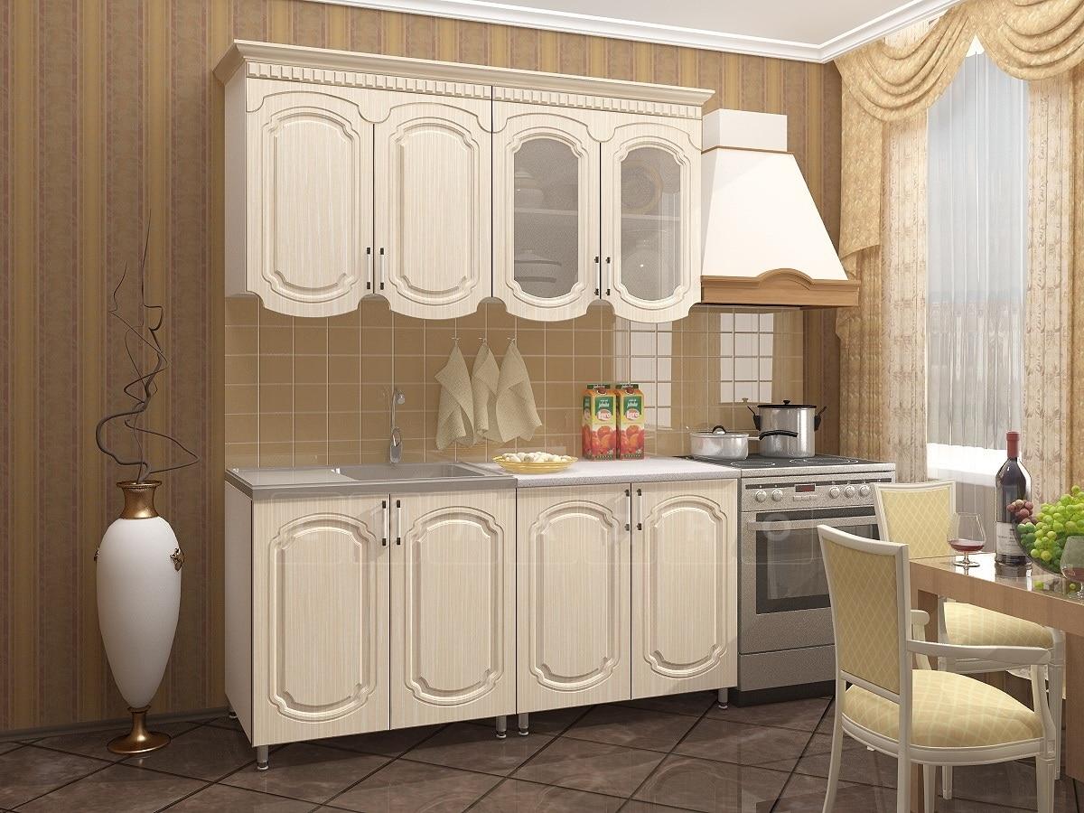 Кухонный гарнитур Скарлетт 1,6 м фото 1 | интернет-магазин Складно