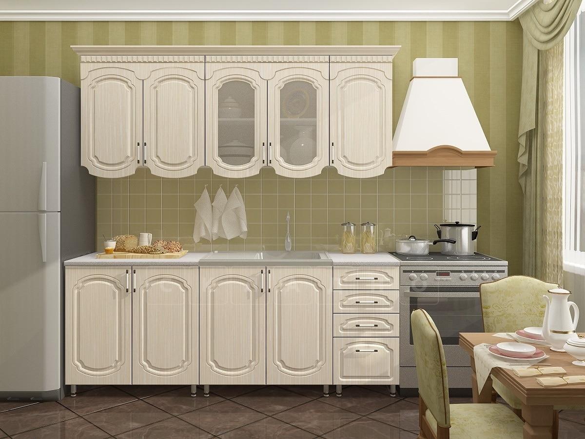Кухонный гарнитур Скарлетт 2,0 м фото 1 | интернет-магазин Складно