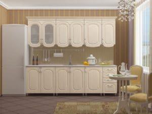 Кухонный гарнитур Скарлетт 2,5 м  24230  рублей, фото 1 | интернет-магазин Складно