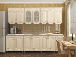 Кухонный гарнитур Скарлетт 2,6 19150 рублей, фото 1 | интернет-магазин Складно