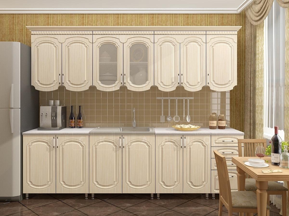 Кухонный гарнитур Скарлетт 2,6 фото 1 | интернет-магазин Складно