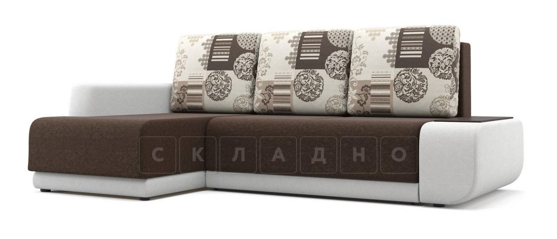 Угловой диван Соло белый левый фото 1 | интернет-магазин Складно