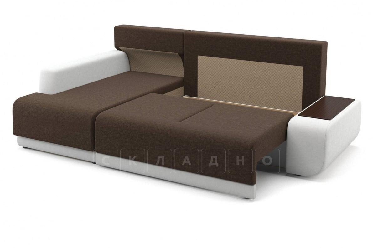 Угловой диван Соло белый левый фото 5 | интернет-магазин Складно