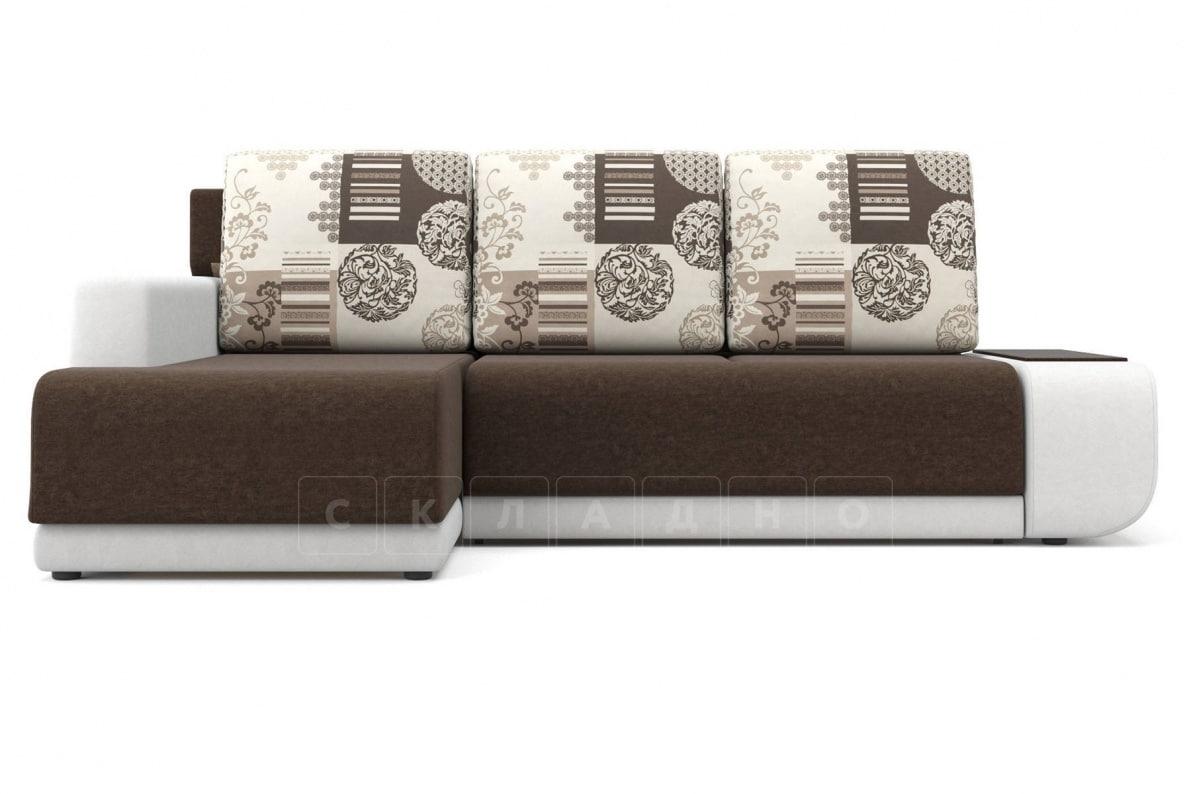 Угловой диван Соло белый левый фото 2 | интернет-магазин Складно