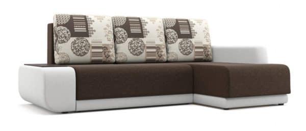 Угловой диван Соло белый правый фото | интернет-магазин Складно
