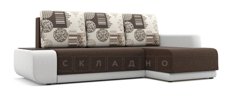 Угловой диван Соло белый правый фото 1   интернет-магазин Складно