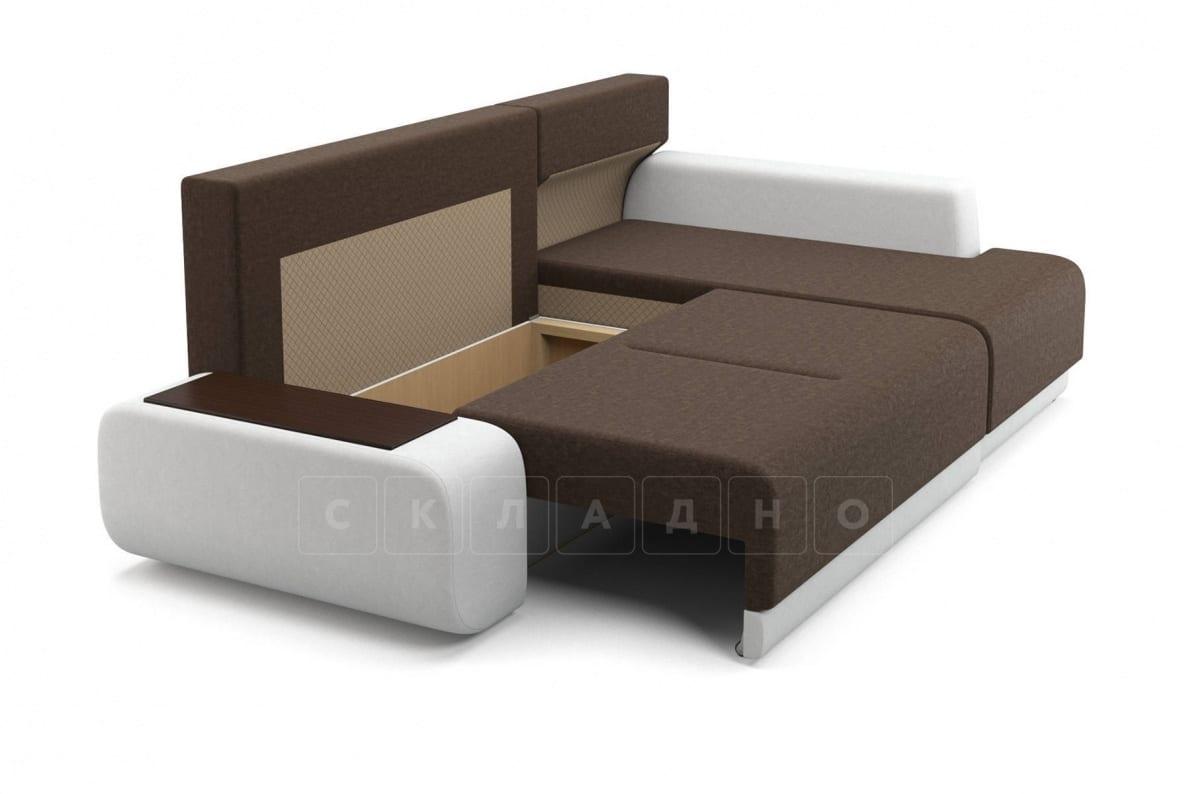 Угловой диван Соло белый правый фото 5   интернет-магазин Складно