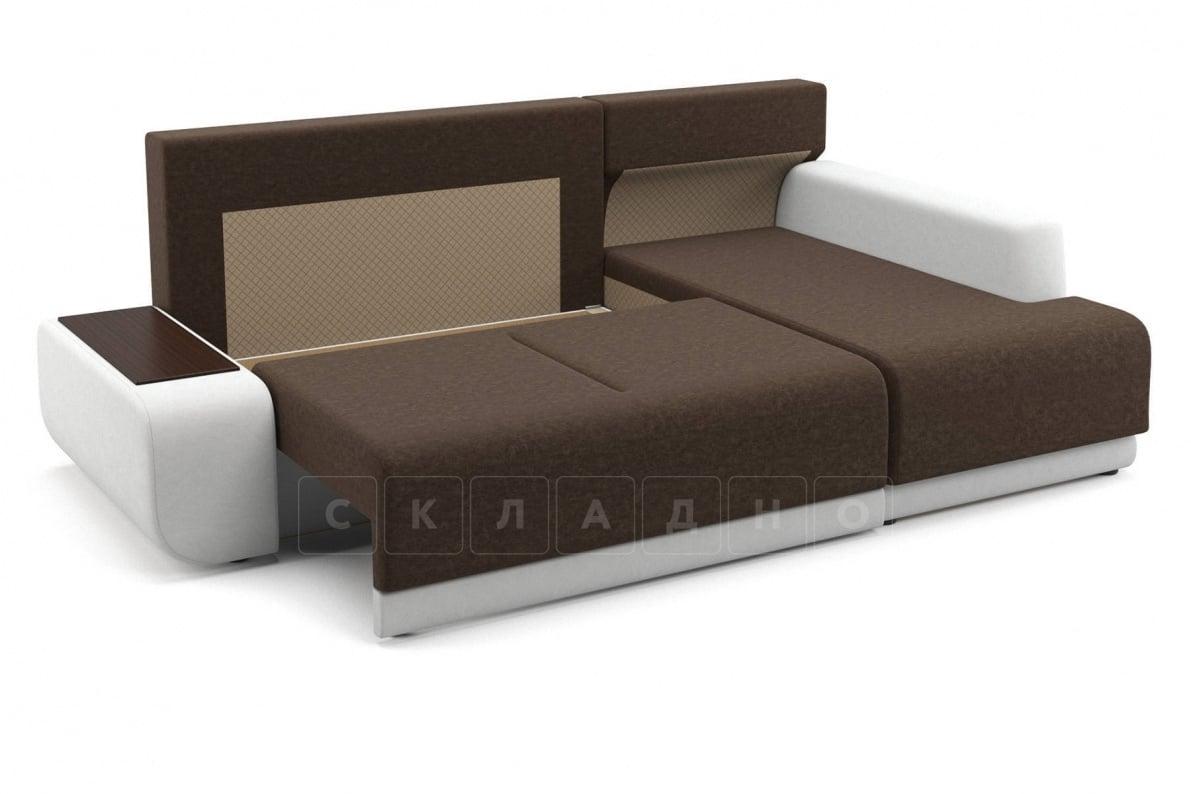 Угловой диван Соло белый правый фото 6   интернет-магазин Складно