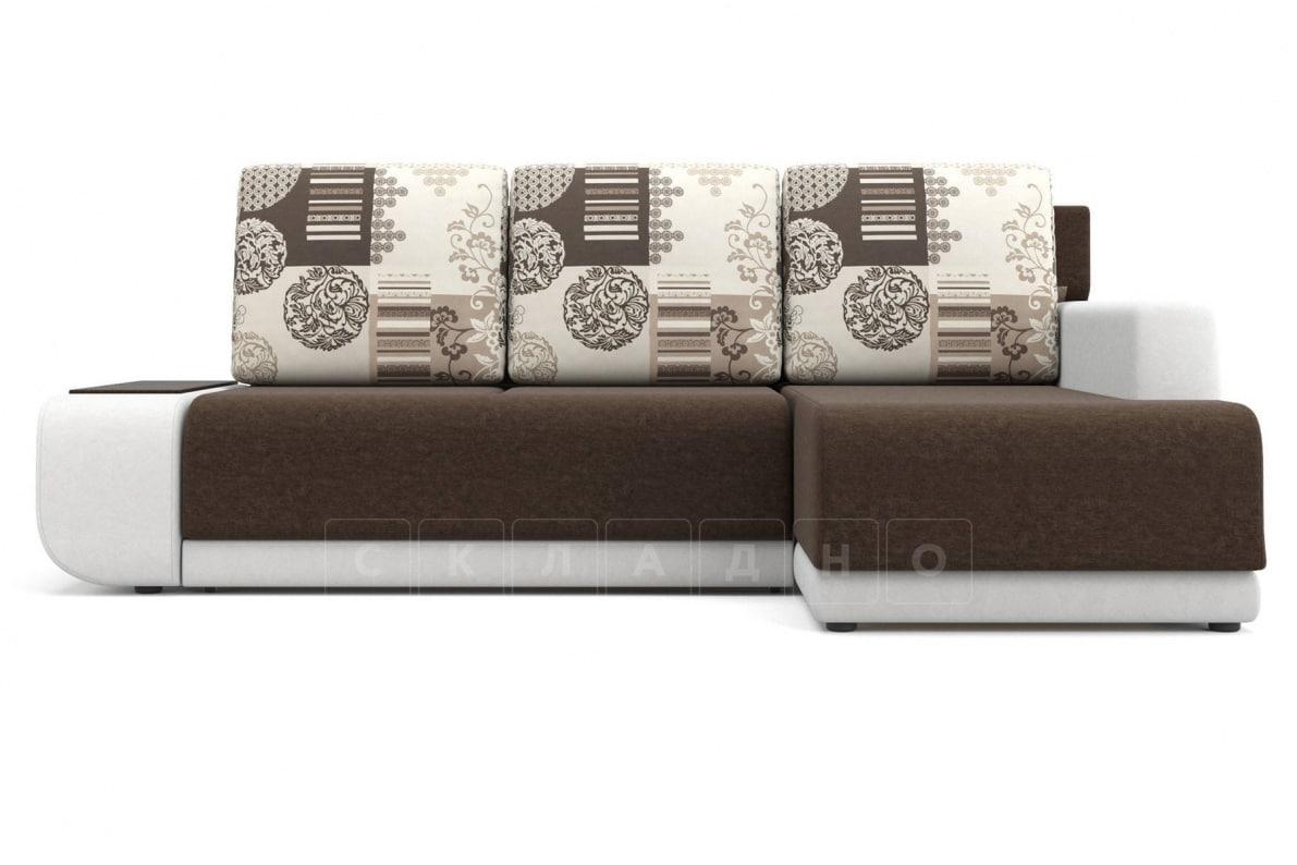 Угловой диван Соло белый правый фото 2   интернет-магазин Складно