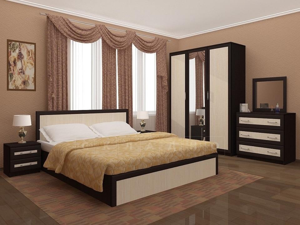 Спальный гарнитур Зиля широкий штапик фото 1 | интернет-магазин Складно