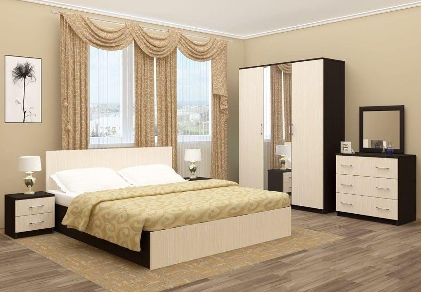 Спальный гарнитур Зиля ЛДСП фото | интернет-магазин Складно