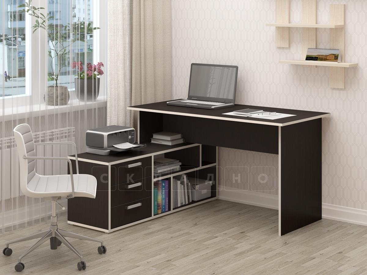 Компьютерный стол СК-11 венге фото 1 | интернет-магазин Складно
