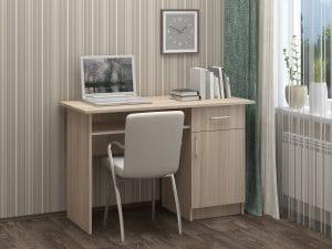 Письменный стол ПС-01 с дверцей и ящиком 3790 рублей, фото 3 | интернет-магазин Складно
