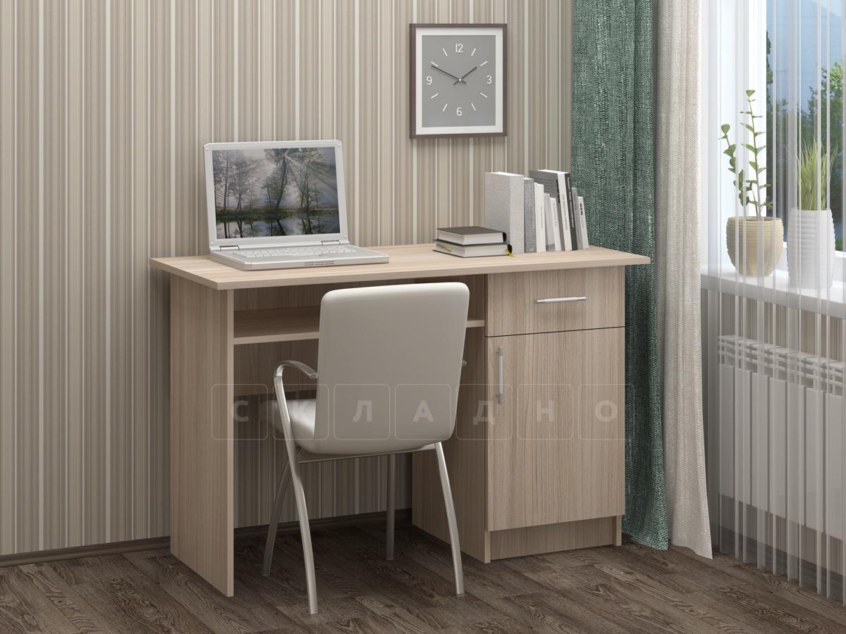 Письменный стол ПС-01 с дверцей и ящиком фото 3 | интернет-магазин Складно