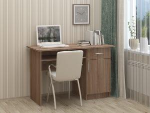 Письменный стол ПС-01 с дверцей и ящиком 3790 рублей, фото 4 | интернет-магазин Складно