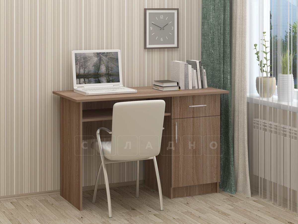 Письменный стол ПС-01 с дверцей и ящиком фото 4 | интернет-магазин Складно