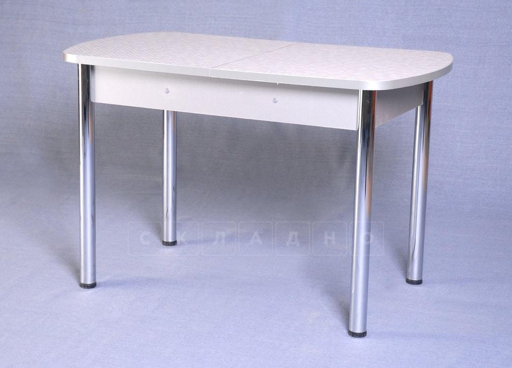 Стол обеденный раздвижной на хромированных ножках 150х70 фото 1 | интернет-магазин Складно