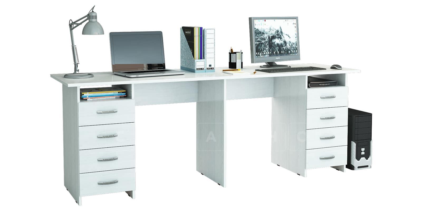 Офисный стол Кейптаун с двумя тумбами фото 1   интернет-магазин Складно