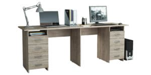 Офисный стол Кейптаун с двумя тумбами 11950 рублей, фото 4   интернет-магазин Складно