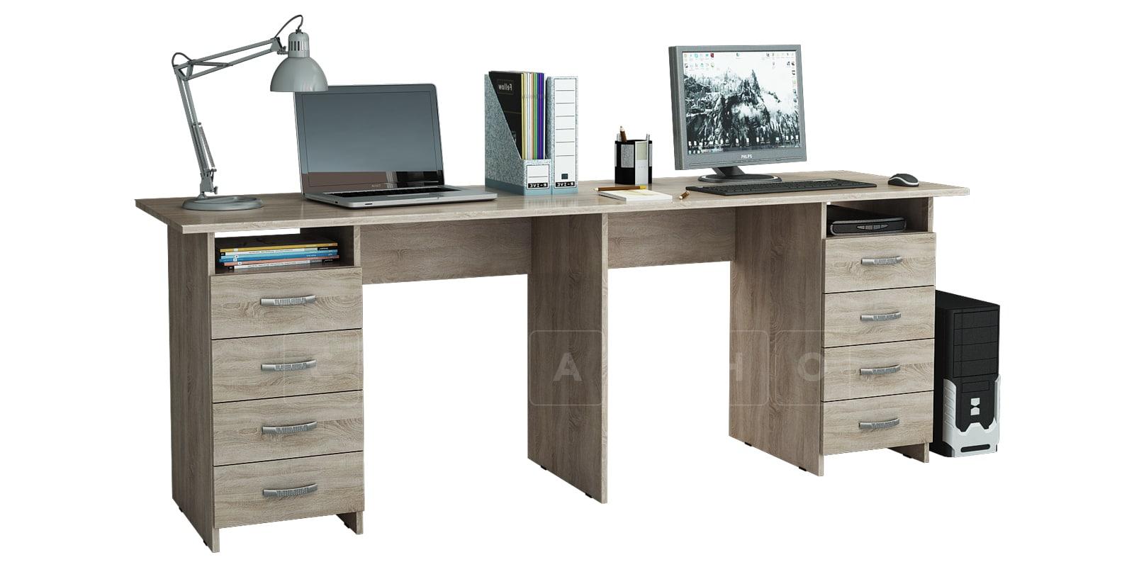 Офисный стол Кейптаун с двумя тумбами фото 4   интернет-магазин Складно