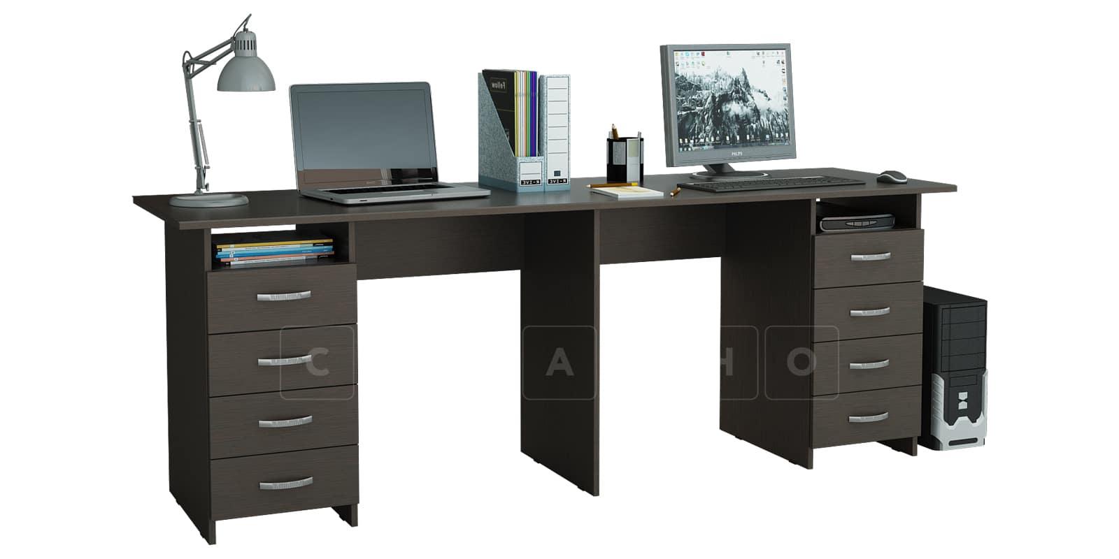 Офисный стол Кейптаун с двумя тумбами фото 3   интернет-магазин Складно
